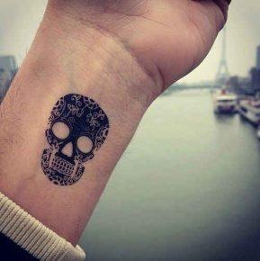 calaveras mexicanas tattoo tatuajes 21 • 2020 » 33 Tatuajes de Calaveras Mexicanas (+Significados) 30