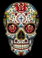 calaveras mexicanas tattoo tatuajes 8 • 2020 » 33 Tatuajes de Calaveras Mexicanas (+Significados) 23