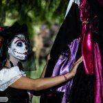 comomaquillarsedecatrina 1 » 75 Ideas Geniales de Maquillajes de Catrinas Mexicanas 14