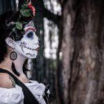 comomaquillarsedecatrina 11 e1500501188300 » 75 Ideas Geniales de Maquillajes de Catrinas Mexicanas 12