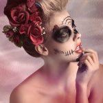 comomaquillarsedecatrina 12 » 75 Ideas Geniales de Maquillajes de Catrinas Mexicanas 11