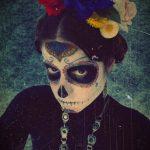 comomaquillarsedecatrina 13 » 75 Ideas Geniales de Maquillajes de Catrinas Mexicanas 21