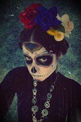comomaquillarsedecatrina 13 • 2020 » 75 Ideas Geniales de Maquillajes de Catrinas Mexicanas 20