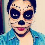 comomaquillarsedecatrina 14 » 75 Ideas Geniales de Maquillajes de Catrinas Mexicanas 20