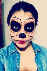 comomaquillarsedecatrina 14 • 2020 » 75 Ideas Geniales de Maquillajes de Catrinas Mexicanas 19