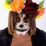 comomaquillarsedecatrina 15 » 75 Ideas Geniales de Maquillajes de Catrinas Mexicanas 19