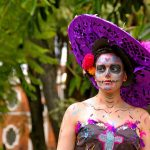 comomaquillarsedecatrina 17 » 75 Ideas Geniales de Maquillajes de Catrinas Mexicanas 17