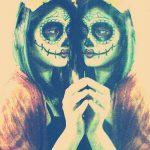 comomaquillarsedecatrina 18 » 75 Ideas Geniales de Maquillajes de Catrinas Mexicanas 16