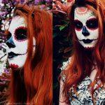 comomaquillarsedecatrina 19 » 75 Ideas Geniales de Maquillajes de Catrinas Mexicanas 15