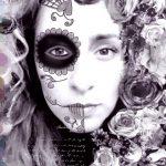 comomaquillarsedecatrina 20 » 75 Ideas Geniales de Maquillajes de Catrinas Mexicanas 35