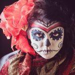 comomaquillarsedecatrina 22 » 75 Ideas Geniales de Maquillajes de Catrinas Mexicanas 9