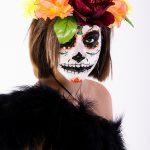 comomaquillarsedecatrina 24 » 75 Ideas Geniales de Maquillajes de Catrinas Mexicanas 31