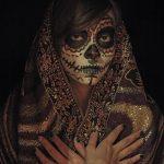 comomaquillarsedecatrina 25 » 75 Ideas Geniales de Maquillajes de Catrinas Mexicanas 30