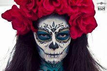 comomaquillarsedecatrina 26 • 2020 » 75 Ideas Geniales de Maquillajes de Catrinas Mexicanas 28