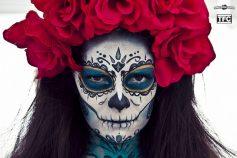 comomaquillarsedecatrina 26 • 2020 » 75 Ideas Geniales de Maquillajes de Catrinas Mexicanas 7