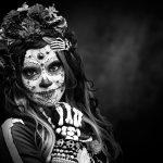comomaquillarsedecatrina 28 1 » 75 Ideas Geniales de Maquillajes de Catrinas Mexicanas 4