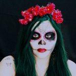 comomaquillarsedecatrina 31 » 75 Ideas Geniales de Maquillajes de Catrinas Mexicanas 57