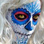 comomaquillarsedecatrina 32 » 75 Ideas Geniales de Maquillajes de Catrinas Mexicanas 56