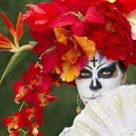 comomaquillarsedecatrina 38 » 75 Ideas Geniales de Maquillajes de Catrinas Mexicanas 50