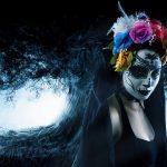 comomaquillarsedecatrina 39 » 75 Ideas Geniales de Maquillajes de Catrinas Mexicanas 49