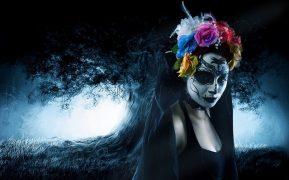 comomaquillarsedecatrina 39 • 2020 » 75 Ideas Geniales de Maquillajes de Catrinas Mexicanas 48