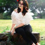 comomaquillarsedecatrina 40 » 75 Ideas Geniales de Maquillajes de Catrinas Mexicanas 38