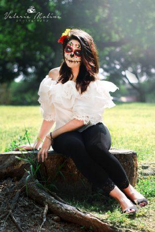 comomaquillarsedecatrina 40 • 2020 » 75 Ideas Geniales de Maquillajes de Catrinas Mexicanas 37