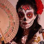 comomaquillarsedecatrina 42 » 75 Ideas Geniales de Maquillajes de Catrinas Mexicanas 6