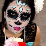 comomaquillarsedecatrina 45 » 75 Ideas Geniales de Maquillajes de Catrinas Mexicanas 45