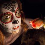 comomaquillarsedecatrina 5 » 75 Ideas Geniales de Maquillajes de Catrinas Mexicanas 5