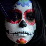 comomaquillarsedecatrina 6 » 75 Ideas Geniales de Maquillajes de Catrinas Mexicanas 4