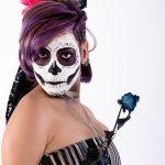 comomaquillarsedecatrina 7 » 75 Ideas Geniales de Maquillajes de Catrinas Mexicanas 3