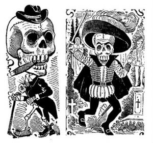 historia catrinas leyenda 12 » Origen e Historia de la Catrina Mexicana 7