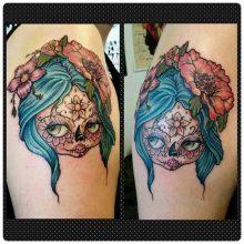 imagenes catrinas tattoo tatuajes 13 • 2020 » 97 Geniales Tatuajes de Catrinas (+Significados) Catrina Tattoo 48