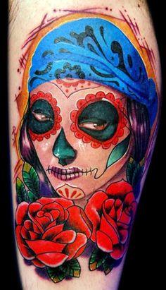 imagenes catrinas tattoo tatuajes 14 » 97 Geniales Tatuajes de Catrinas (+Significados) 49