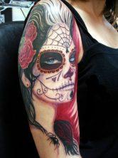 imagenes catrinas tattoo tatuajes 15 • 2020 » 97 Geniales Tatuajes de Catrinas (+Significados) Catrina Tattoo 13