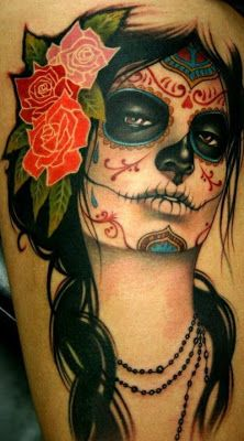 imagenes catrinas tattoo tatuajes 19 » 97 Geniales Tatuajes de Catrinas (+Significados) 54