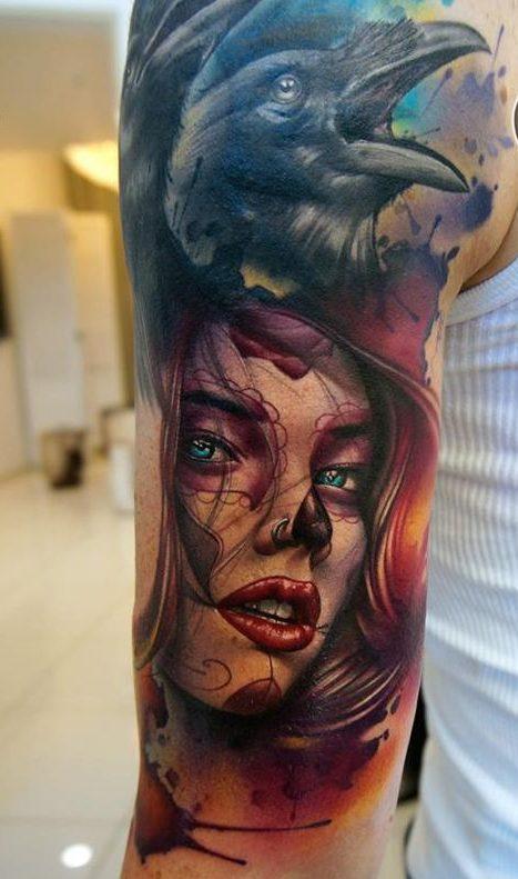 imagenes catrinas tattoo tatuajes 23 e1489786598218 » 97 Geniales Tatuajes de Catrinas (+Significados) 15