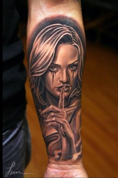 imagenes catrinas tattoo tatuajes 25 » 97 Geniales Tatuajes de Catrinas (+Significados) 60