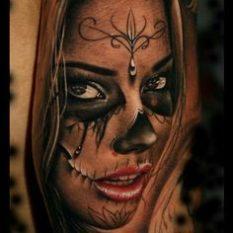 imagenes catrinas tattoo tatuajes 26 • 2020 » 97 Geniales Tatuajes de Catrinas (+Significados) Catrina Tattoo 61