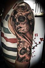 imagenes catrinas tattoo tatuajes 27 • 2020 » 97 Geniales Tatuajes de Catrinas (+Significados) Catrina Tattoo 62