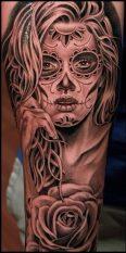 imagenes catrinas tattoo tatuajes 28 • 2020 » 97 Geniales Tatuajes de Catrinas (+Significados) Catrina Tattoo 63