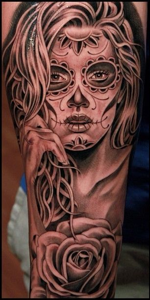 imagenes catrinas tattoo tatuajes 28 » 97 Geniales Tatuajes de Catrinas (+Significados) 63