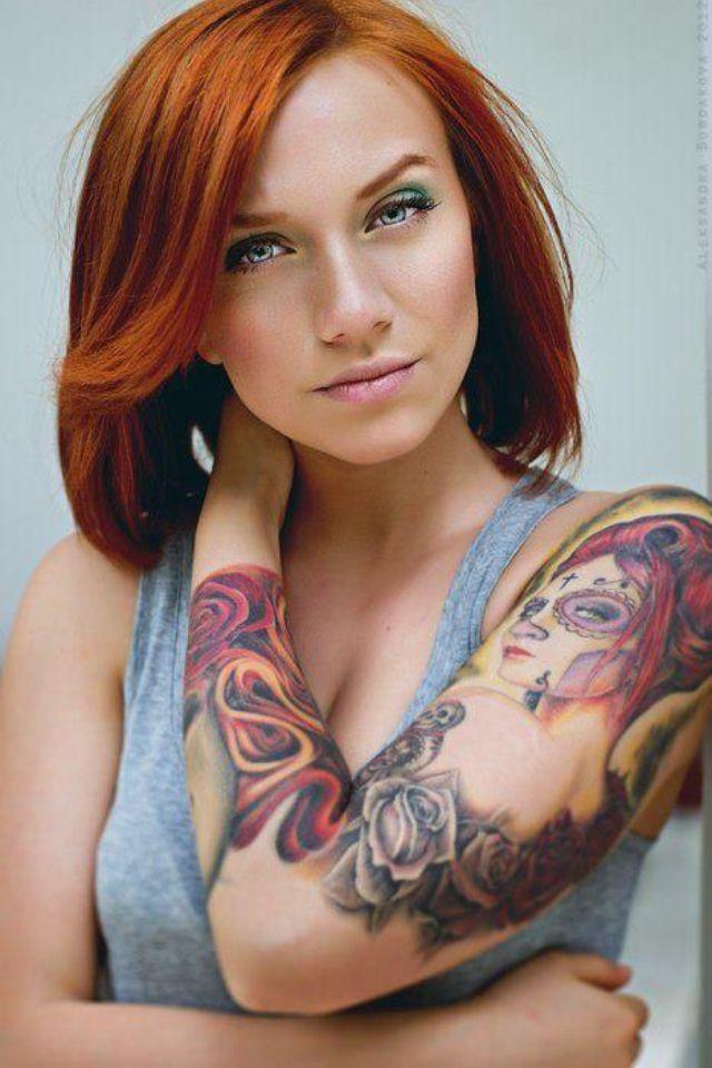 imagenes catrinas tattoo tatuajes 31 » 97 Geniales Tatuajes de Catrinas (+Significados) 66