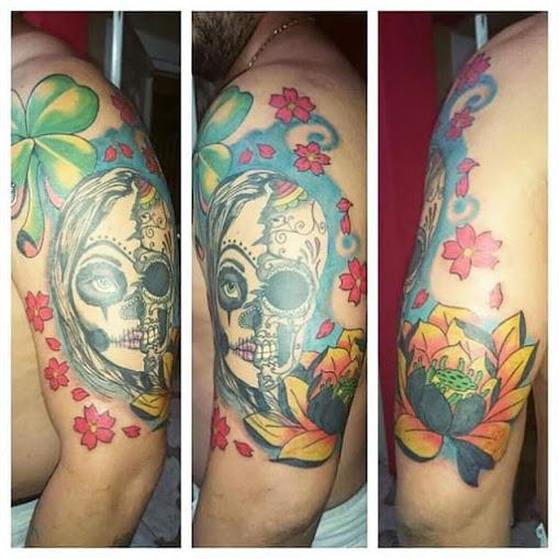 imagenes catrinas tattoo tatuajes 32 » 97 Geniales Tatuajes de Catrinas (+Significados) 67
