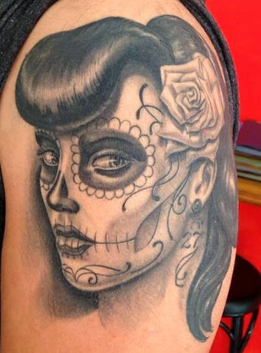 imagenes catrinas tattoo tatuajes 35 » 97 Geniales Tatuajes de Catrinas (+Significados) 70