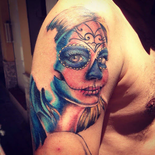 imagenes catrinas tattoo tatuajes 36 » 97 Geniales Tatuajes de Catrinas (+Significados) 71