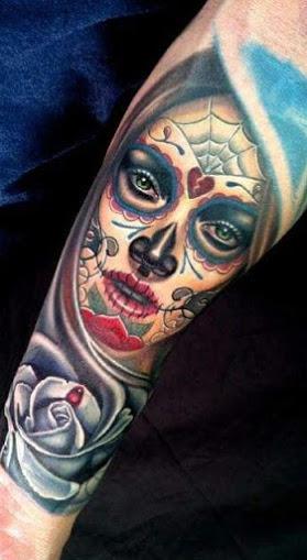 imagenes catrinas tattoo tatuajes 38 » 97 Geniales Tatuajes de Catrinas (+Significados) 73
