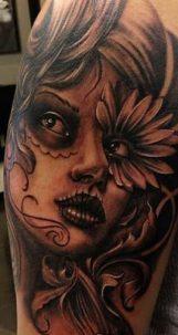 imagenes catrinas tattoo tatuajes 39 • 2020 » 97 Geniales Tatuajes de Catrinas (+Significados) Catrina Tattoo 74