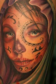 imagenes catrinas tattoo tatuajes 41 » 97 Geniales Tatuajes de Catrinas (+Significados) 76